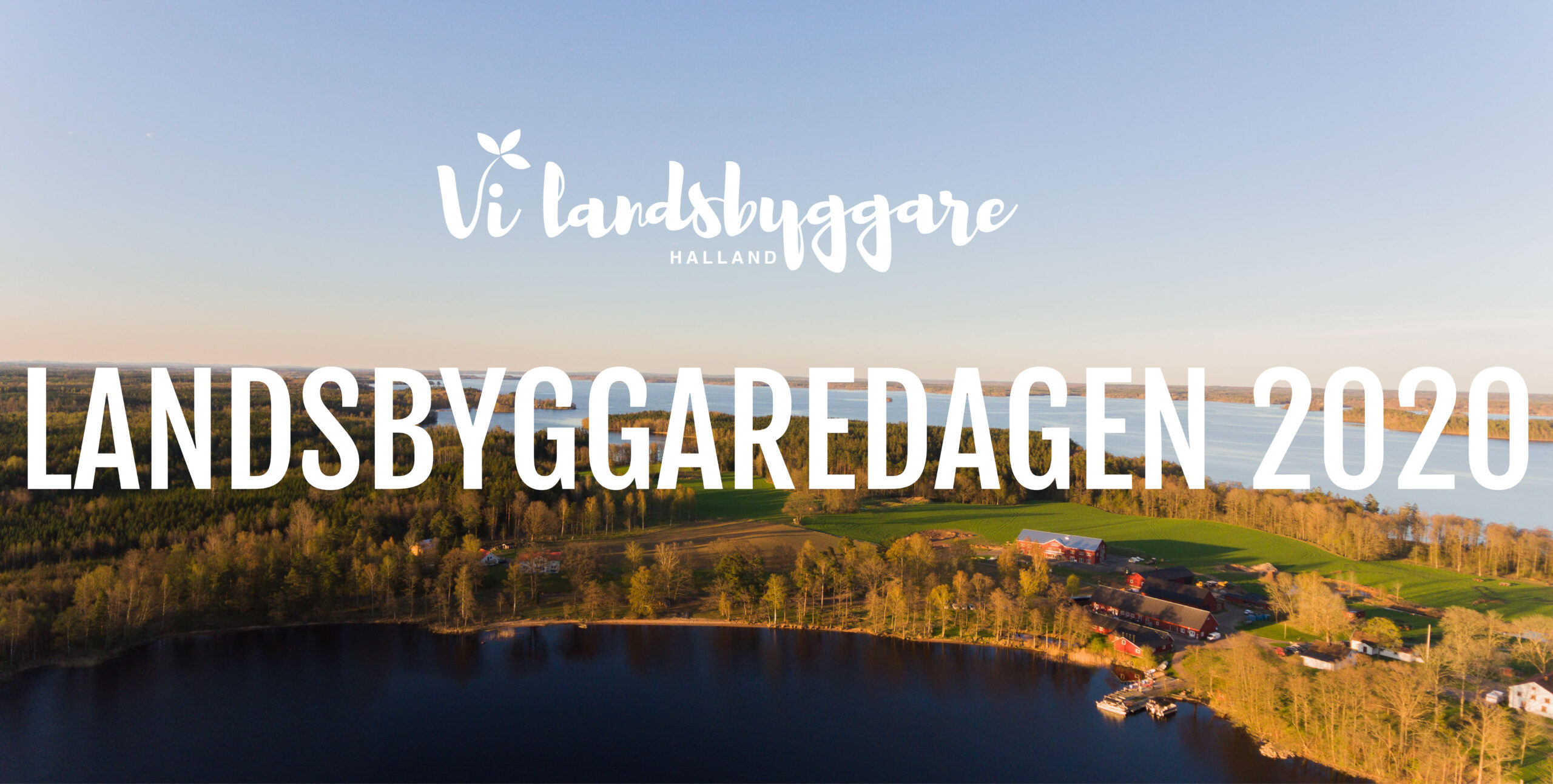 Vi Landsbyggare Halland drönarbild Landsbyggaredagen 2020