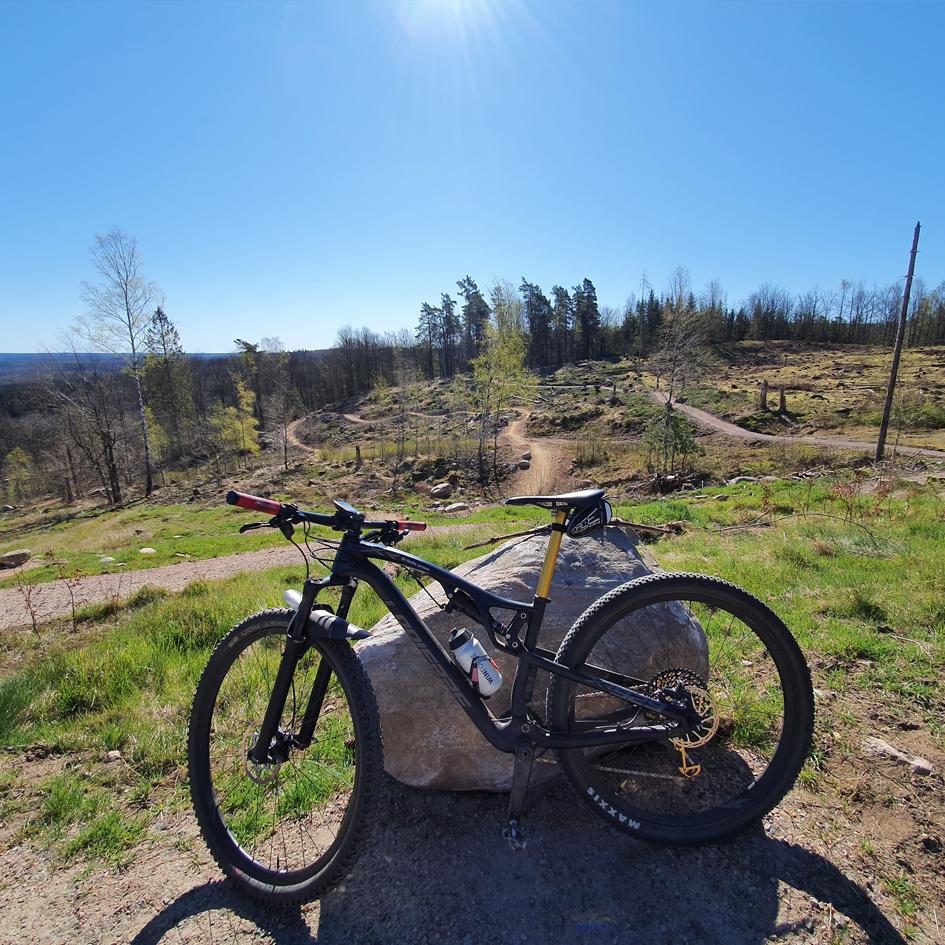 beskuren cykelled våxtorp